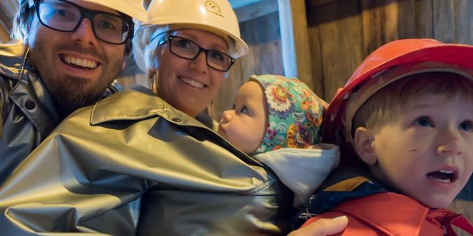 Reisen mit Baby Interview Reisezoom Bergwerk Schwatz Tirol