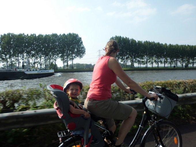 Interview Reisen mit Baby Christin Tiny Traveler Fahrradtour nach Amsterdam
