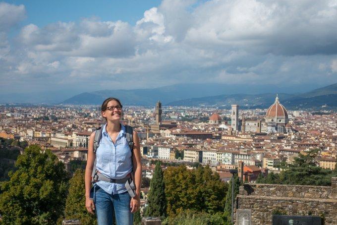 In Florenz Reisen mit Baby weil wir das Reisen lieben