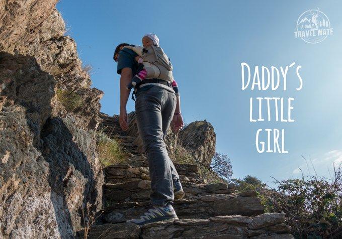 Reisen mit Baby Reisen in der Elternzeit Papa und Baby lernen sich wieder kennen