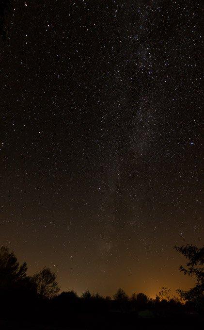 Sternenhimmel richtig fotografieren Panorama