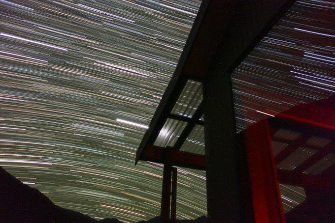 Sternenhimmel richtig fotografieren Sternspuren