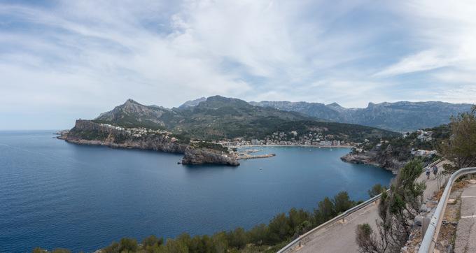 Wandern auf Mallorca Rundweg Port de Sóller Muleta