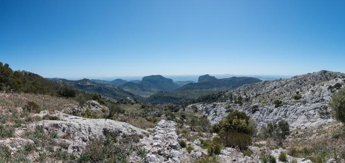Wandern auf Mallorca Tour auf den Puig de L'Ofre