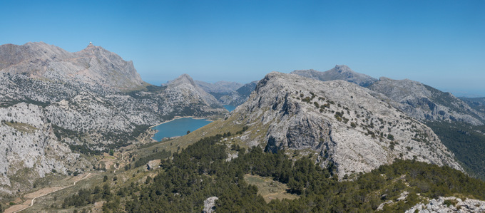 Wandern auf Mallorca in der Serra de Tramuntana