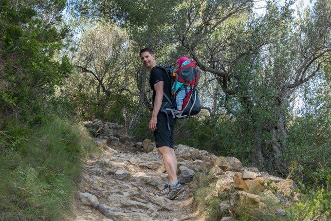 Wandern auf Mallorca mit Baby