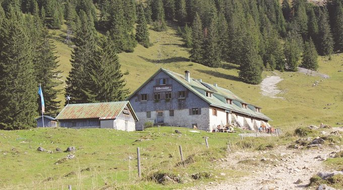 Wandern im Allgäu Willers Alpe3