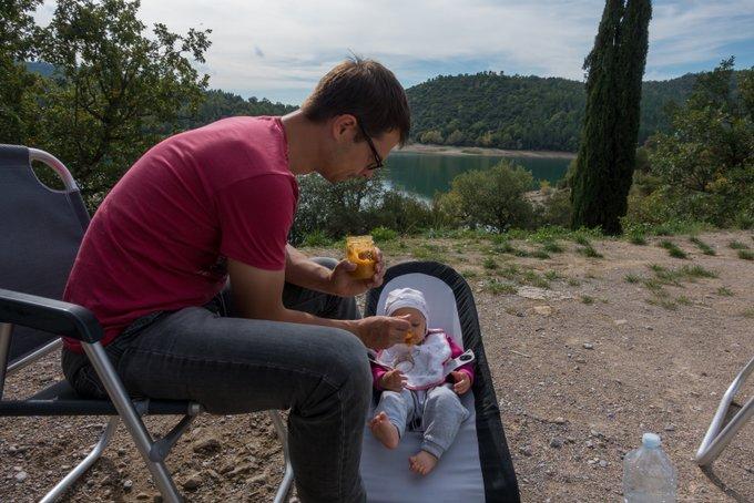 Reisen mit Baby Thema Beikost