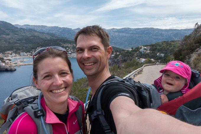 Reisen mit Baby Wanderurlaub Mallorca