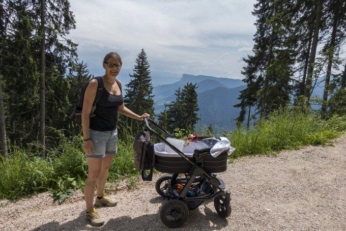 Reisen mit Baby und Kinderwagen
