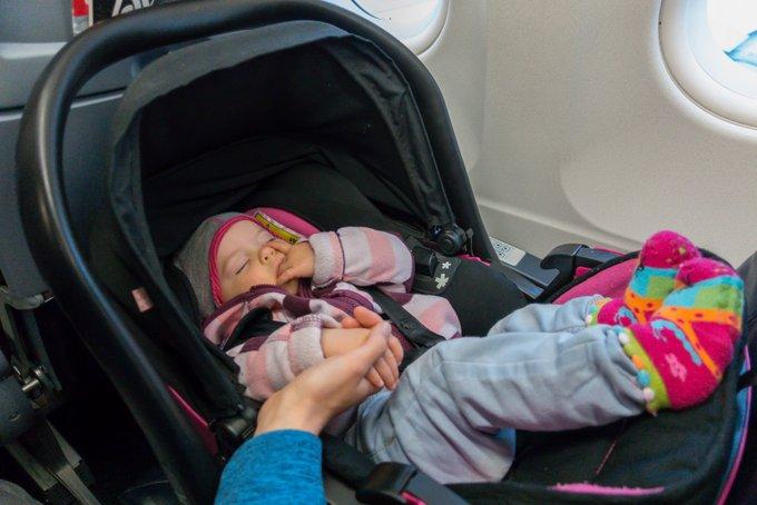Reisen und Fliegen mit Baby