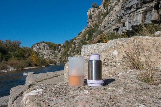 Wandern mit Baby Thermo Flaschenwärmer