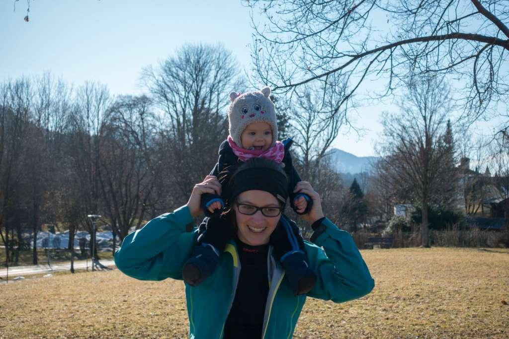 Wandern mit Baby alternative Tragemöglichkeit2