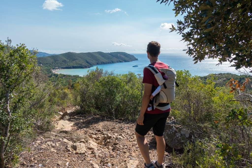 Wandern mit Baby auf Elba