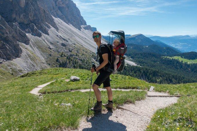 Wandern mit Baby Südtirol