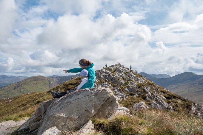 Wandern in Connemara Gipfel Diamond Hill
