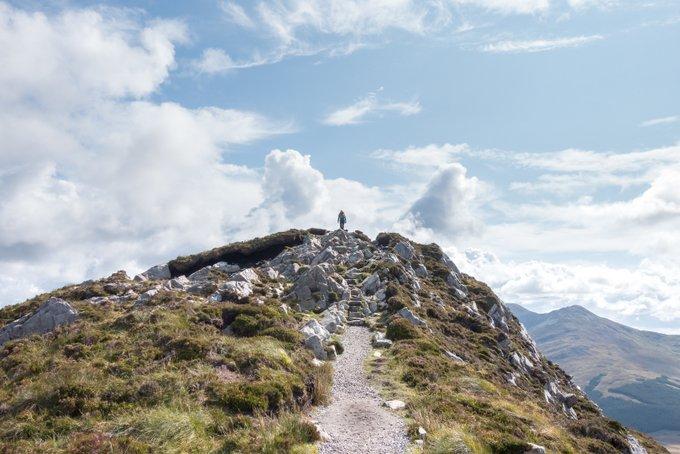 Wandern in Connemara_Diamond Hill_Gipfel