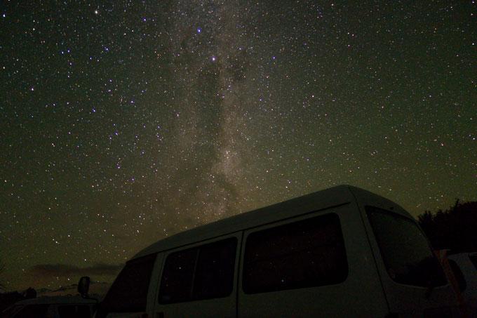 Neuseeland für Fotografen Sternenhimmel fotografieren