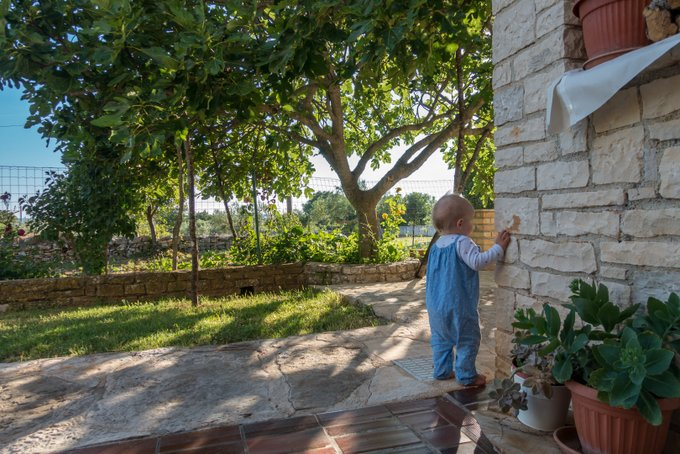 Urlaub mit Baby und Kleinkind AirBnB Kroatien
