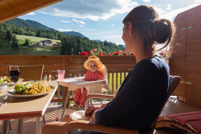 Urlaub mit Baby und Kleinkind Südtirol