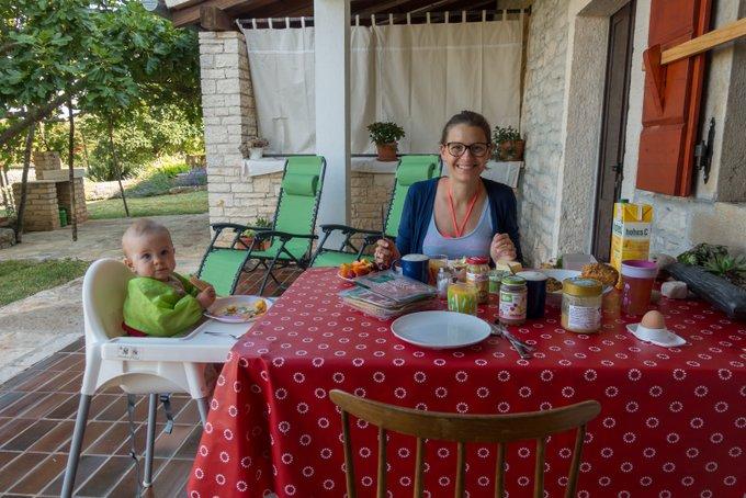 Urlaub mit Baby und Kleinkind in Kroatien mit AirBnB