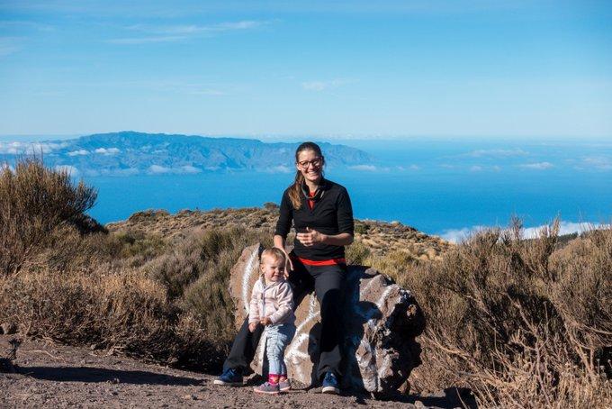 Wandern auf Teneriffa Aussicht nach La Gomera