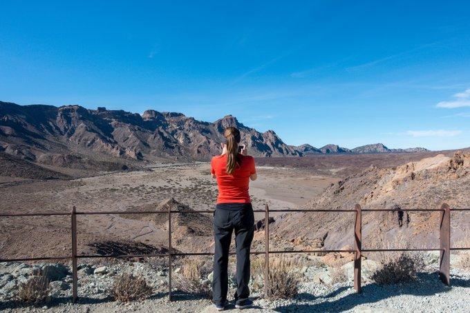 Wandern auf Teneriffa Aussichtpunkt Caldera Teide