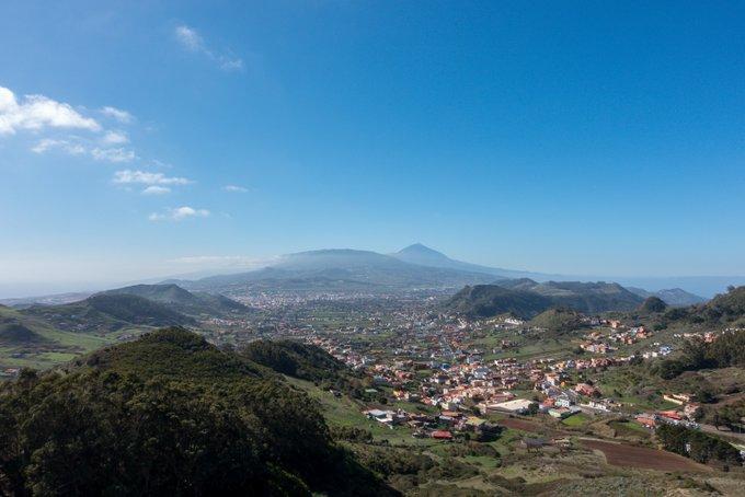 Wandern auf Teneriffa Aussichtspunkt Cruz del Carmen Anaga Gebirge