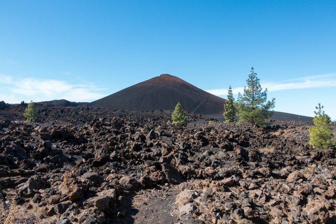 Wandern auf Teneriffa Umrundung des Chinyero