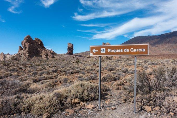 Wandern auf Teneriffa Wanderung Roques de Garcia
