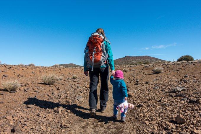 Teneriffa mit Kleinkind Wandern im Teide Nationalpark