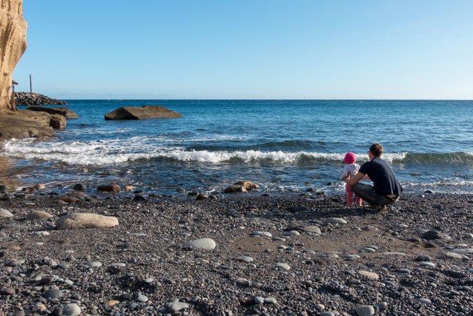 Teneriffa mit Kleinkind am Meer