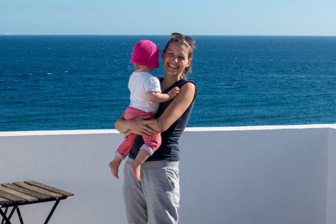 Teneriffa mit Kleinkind und Meerblick