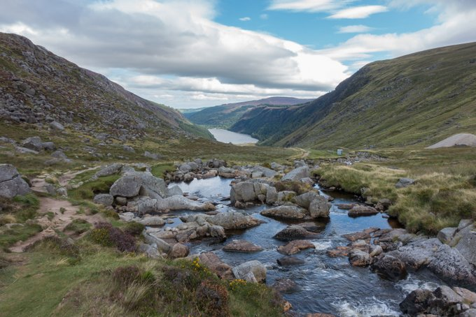 Roadtrip Irland Kleindkind Wanderung Wicklow Mountains