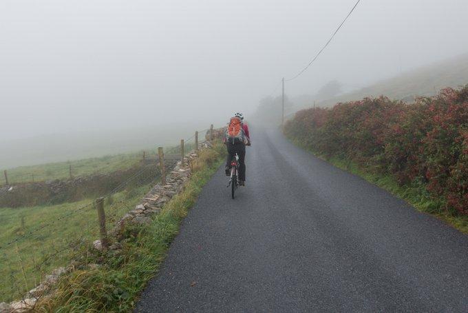 Roadtrip Irland Kleinkind Sky Road Connemara