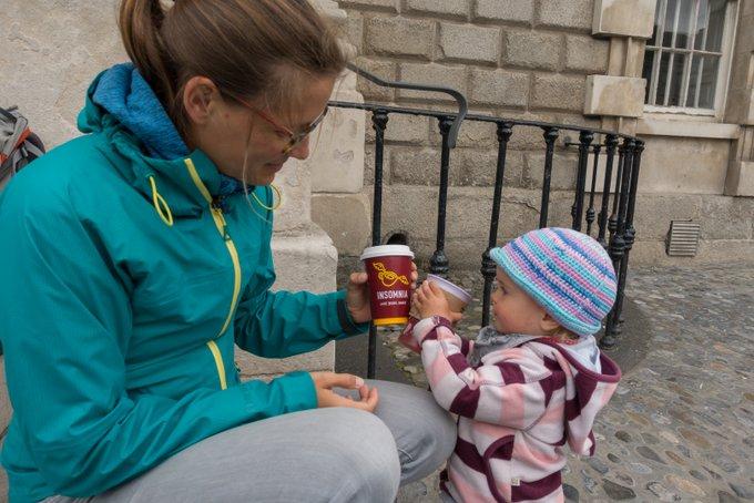 Roadtrip Irland Kleinkind in Dublin