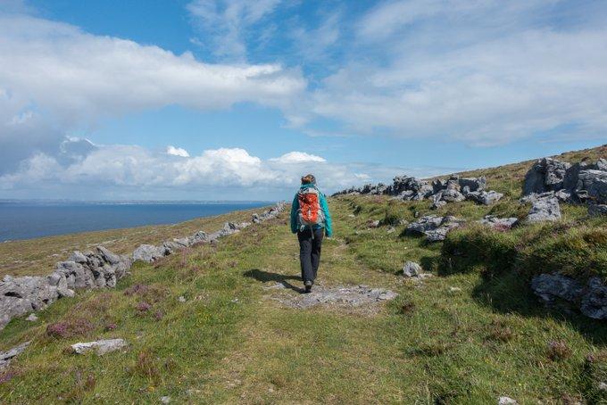 Roadtrip Irland Wanderung Black Head Loop