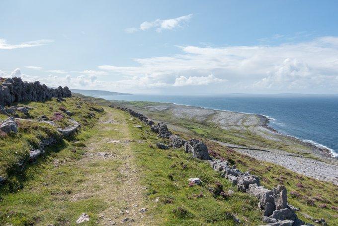 Roadtrip Irland Wanderung The Burren