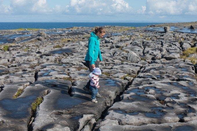 Roadtrip Irland mit Kleinkind The Burren
