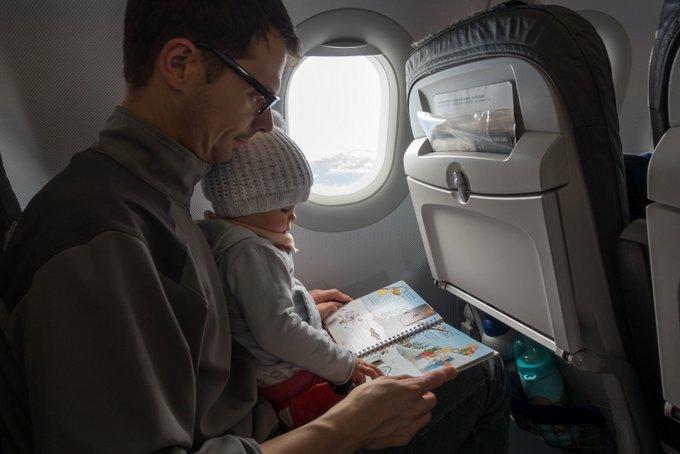 Fliegen mit Baby und Kleinkind Beschäftigung