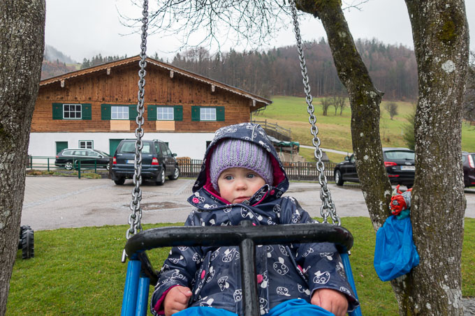 Urlaub am Wolfgangsee mit Kind Schaukeln