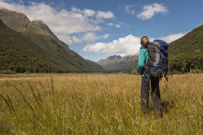 Wandern in Neuseeland Caples & Greenstone Track (2)