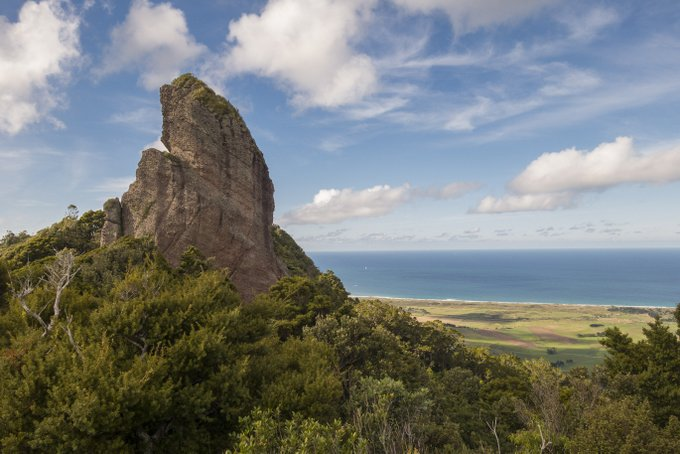 Wandern in Neuseeland Mt Manaia Track