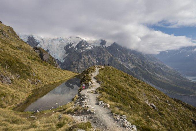 Wandern in Neuseeland Mueller Hut