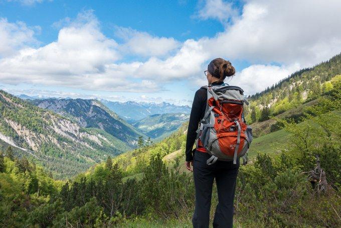 Wanderung im Kaisertal Aufstieg Stripsenjochhütte