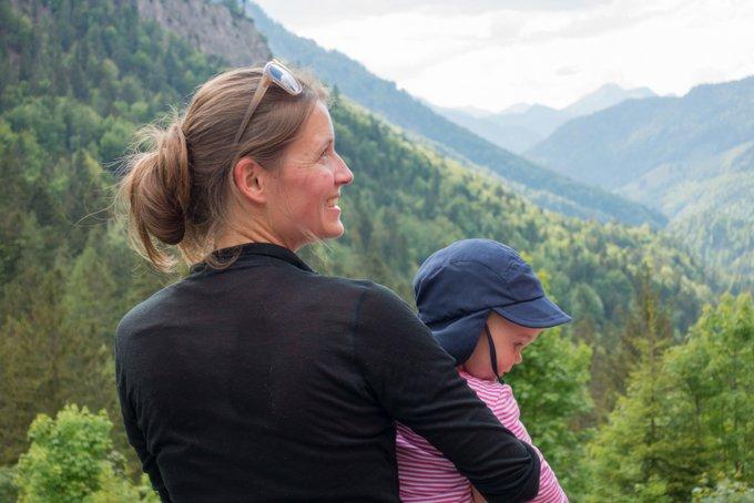 Wanderung im Kaisertal Hüttenübernachtung mit Kleinkind
