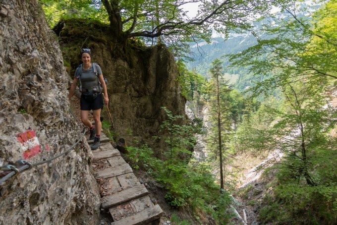 Wanderung im Kaisertal auf dem Bettlersteig
