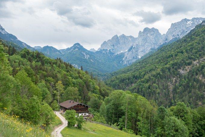 Wanderung im Kaisertal mit Kleinkind Kaiserblick