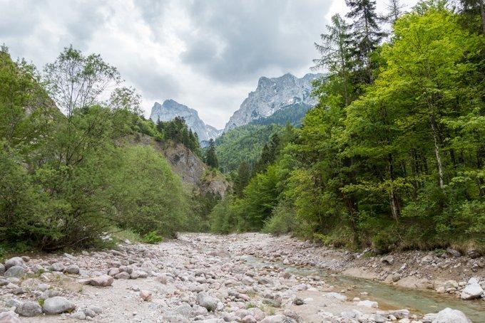 Wanderung im Kaisertal mit Kleinkind am Kaiserbach