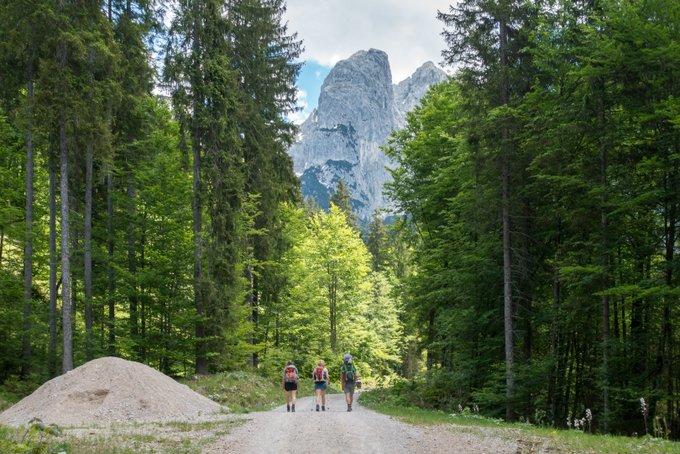 Wanderung im Kaisertal mit Kleinkind nach Hinterbärenbad